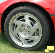 Corvette ZR-1 wheel