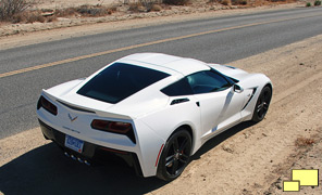 2014 Chevrolet Corvette Stingray, Arctic White