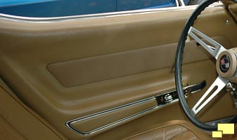 1969 Chevrolet Corvette door panel