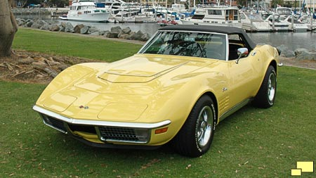 1970 Daytona Yellow Corvette