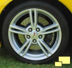 A new split spoke wheel design was introduced in 2008