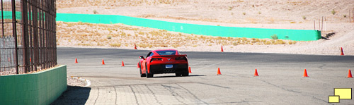 2014 Chevrolet Corvette Stingray at Willow Springs International Raceway