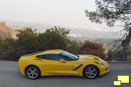 2014 Chevrolet Corvette Stingray, Velocity Yellow