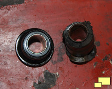 new and worn 1968 Chevrolet Corvette bushings