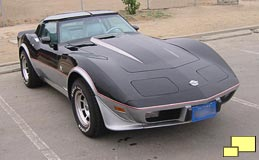 1978 Corvette Limited Edition pace car without graphics
