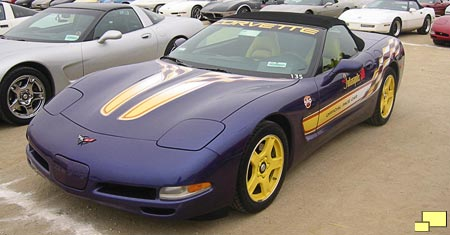 1998 Corvette Indy 500 pace car replica