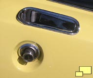 1968 Corvette outside door latch and lock