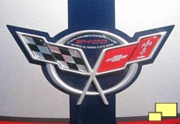 2004 Corvette Le Mans Commemorative Edition nose badge