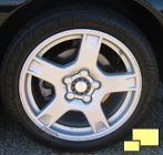 1997 through 1999 stock Corvette wheel