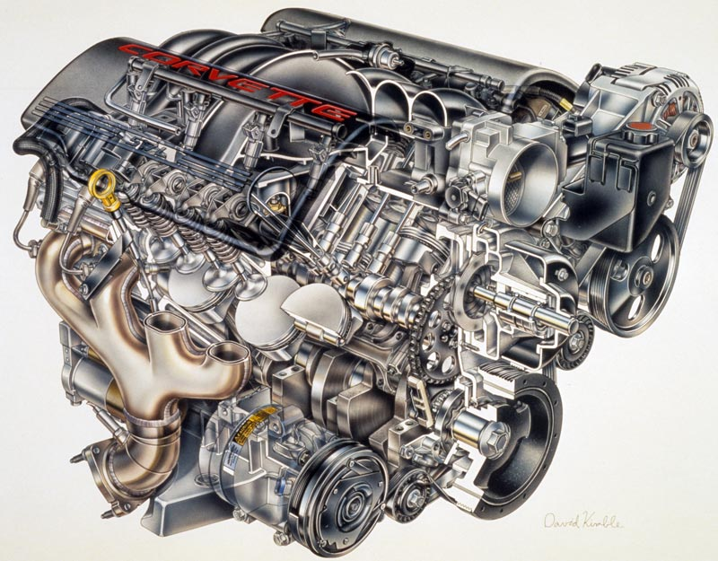 1997 New Generation Corvette C5 Introduced With Ls1 Engine