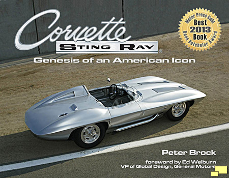 Corvette Sting Ray: Genesis of an American Icon by Peter Brock