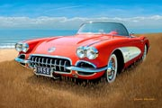 1958 Corvette Photographs