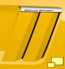 2010 Corvette Grand Sport fender gills