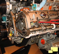 Corvette C4 LT-5 Engine Cutaway Display
