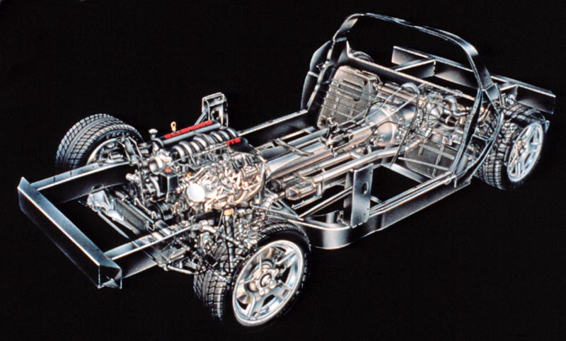 1997 Corvette C5 Suspension Overview New Transaxle