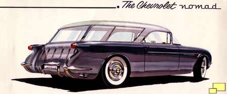 Early Chevrolet Nomad