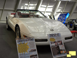 1,000,000th Chevrolet Corvette on display at the National Corvette Museum