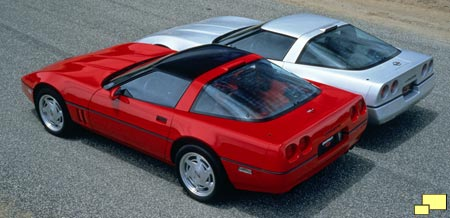 Corvette ZR-1, standard Corvette comparison