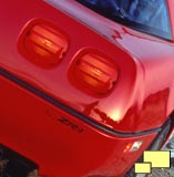 Corvette ZR-1 tail lights