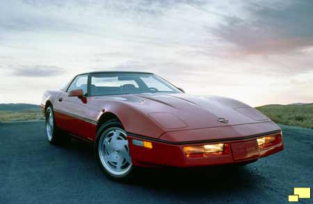Corvette ZR-1, 1989 press release photo