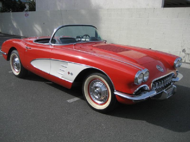 1958 corvette roman red black 1958 corvette for sale. Cars Review. Best American Auto & Cars Review