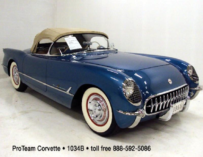 1955 Corvette For Sale 1955 Corvette Vin 44