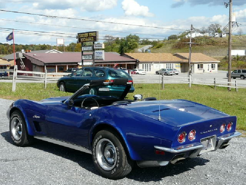 1973 Corvette For Sale 1973 Dark Blue Corvette Conv